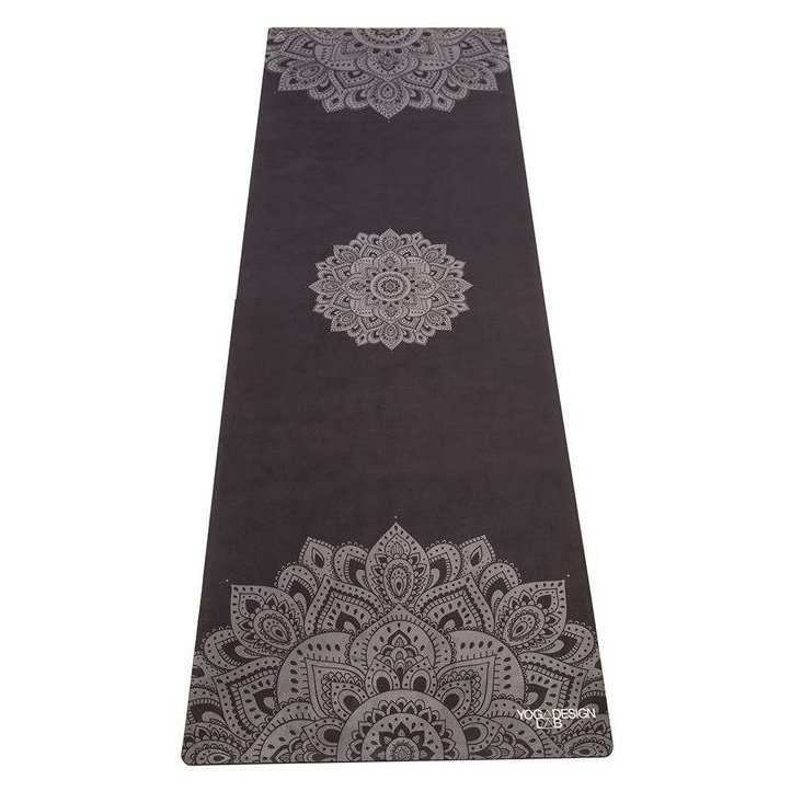 YOGA DESIGN LAB Podložka na jógu Mandala Black – 3.5 mm