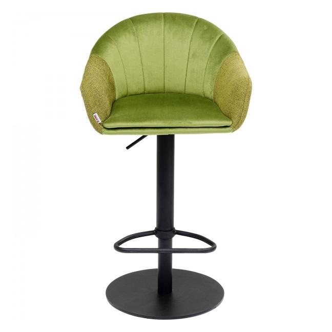 Barová židle Musa – zelená