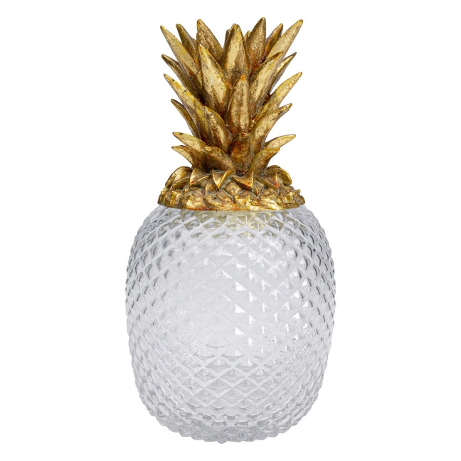 KARE DESIGN Sada 2 ks – Deco Sklenice Pineapple Visible