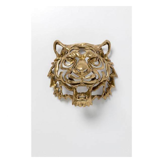 Dekorace na zeď Tygr – zlatý