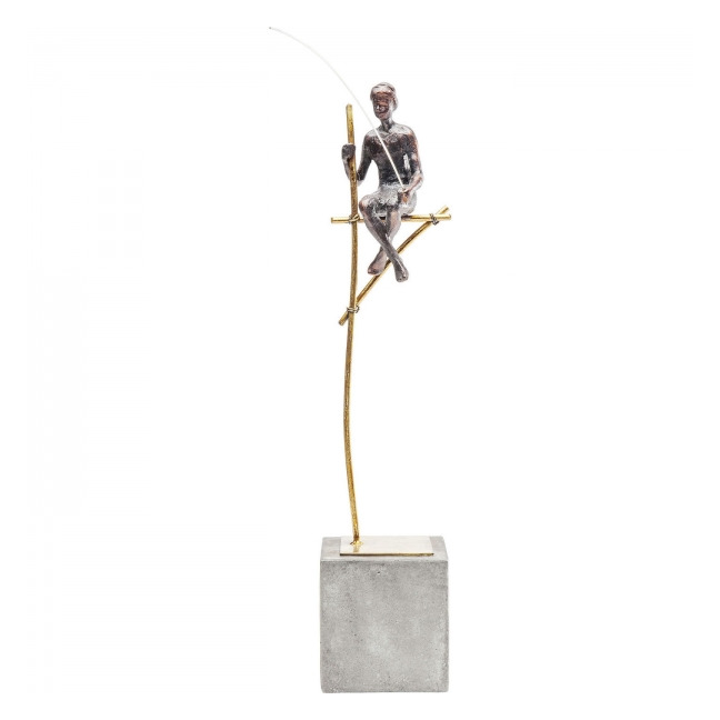 KARE DESIGN Dekorativní figurka Stilt Fisher Man 52 cm