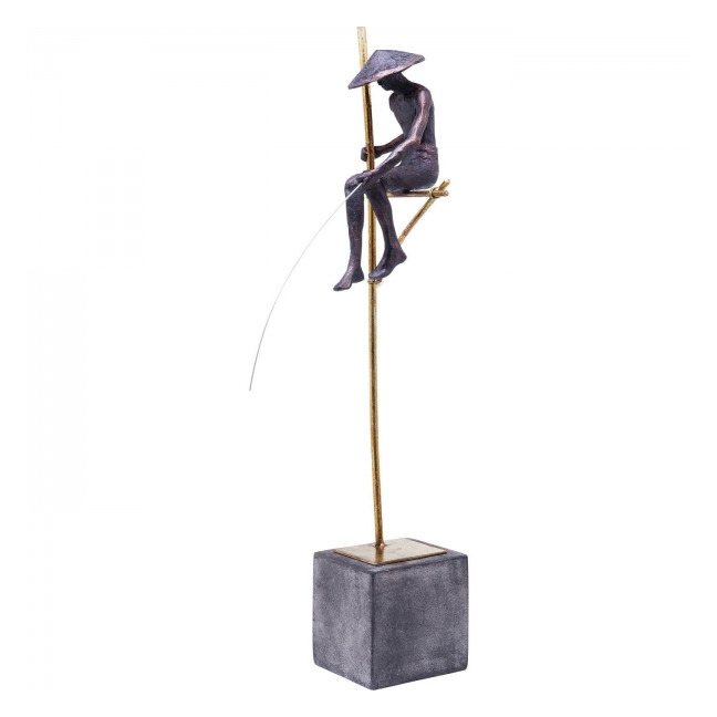 KARE DESIGN Dekorativní figurka Stilt Fisher Man 62 cm