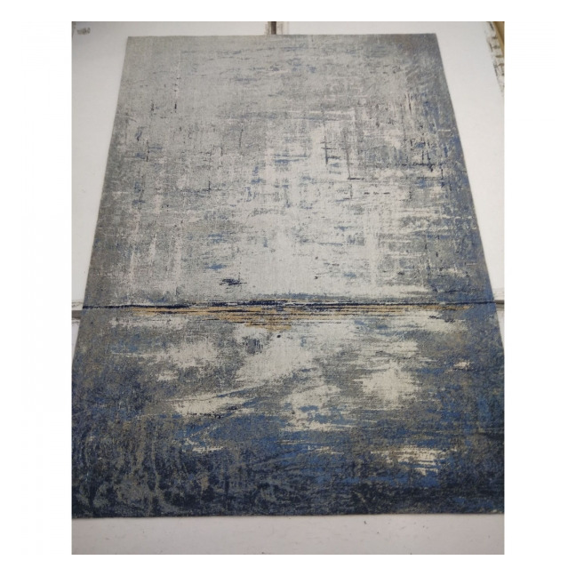 KARE DESIGN Koberec Abstract Dark Blue 240×170 cm