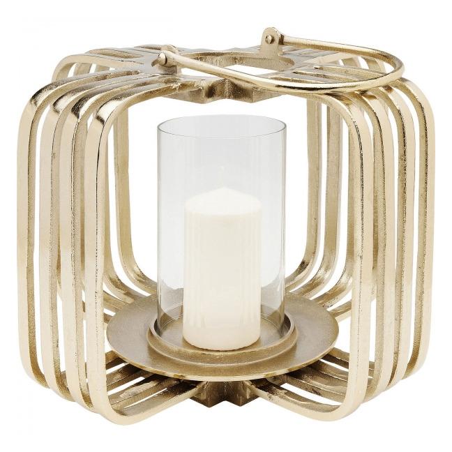 Sada 2 ks – Lucerna – zlatáen Cage – malá