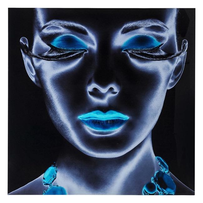 Obraz na skle Diva 120×120 cm