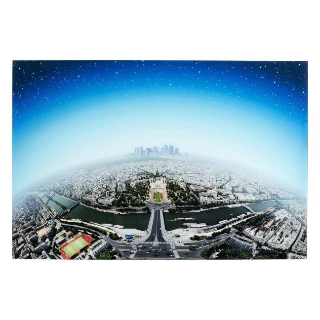 Skleněný obraz Planet Paris 100×150 cm