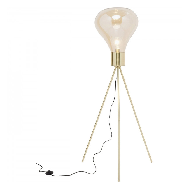 Stojací lampa Tripod Pear 170 cm
