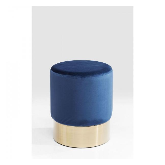 Sada 2 ks – Stolička Cherry Blue Brass Ø35 cm UK