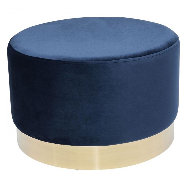 Stolička Cherry Blue Brass Ø55 cm
