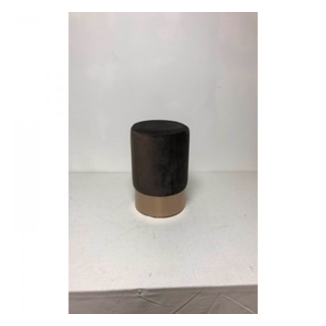 Sada 2 ks – Stolička Cherry Dark Brown Copper Ø35 cm