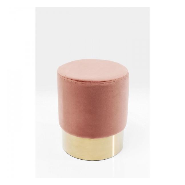 Sada 2 ks – Stolička Cherry Mauve Brass Ø35 cm UK