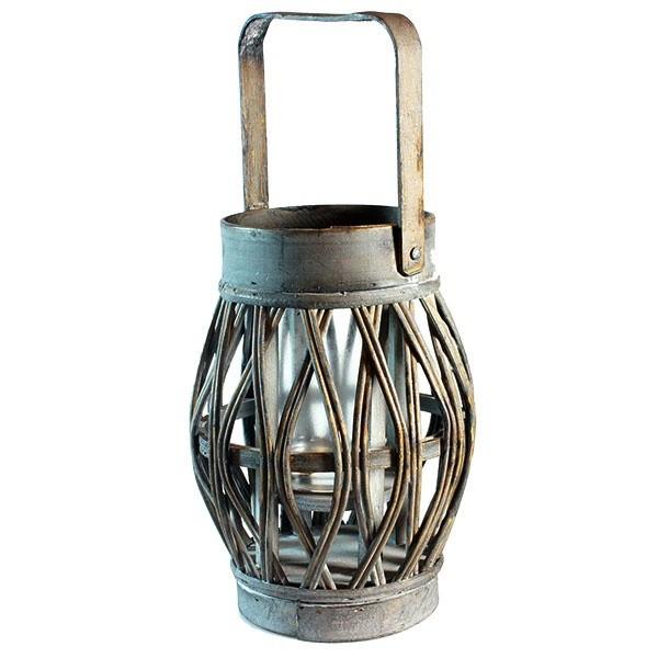 Dřevěná lucerna Jeexi