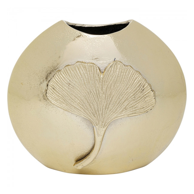 KARE DESIGN Váza Gingko Leaf 25 cm