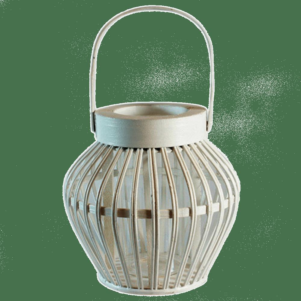 Dřevěná lucerna Wutos