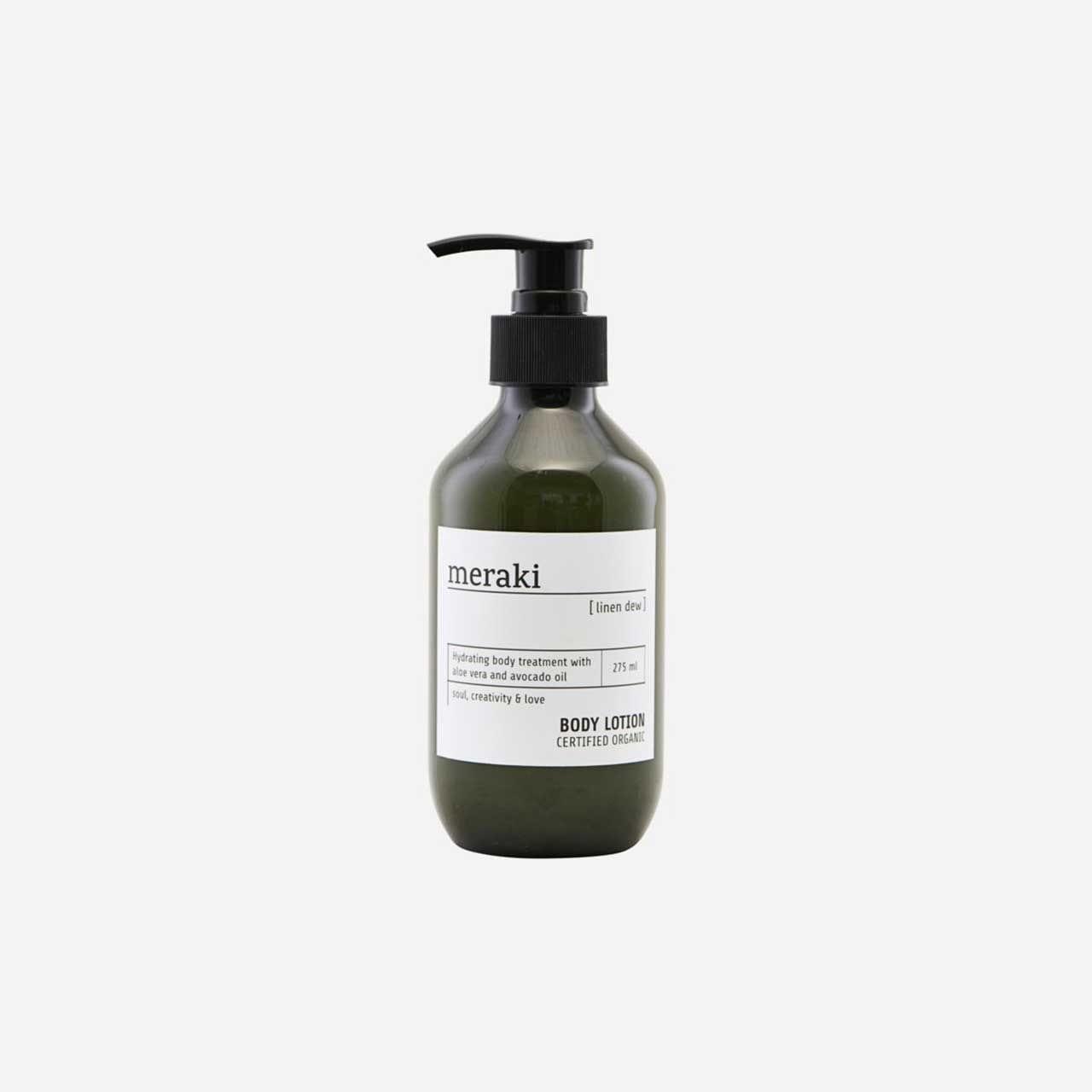 Tělový krém Linen dew – 275 ml