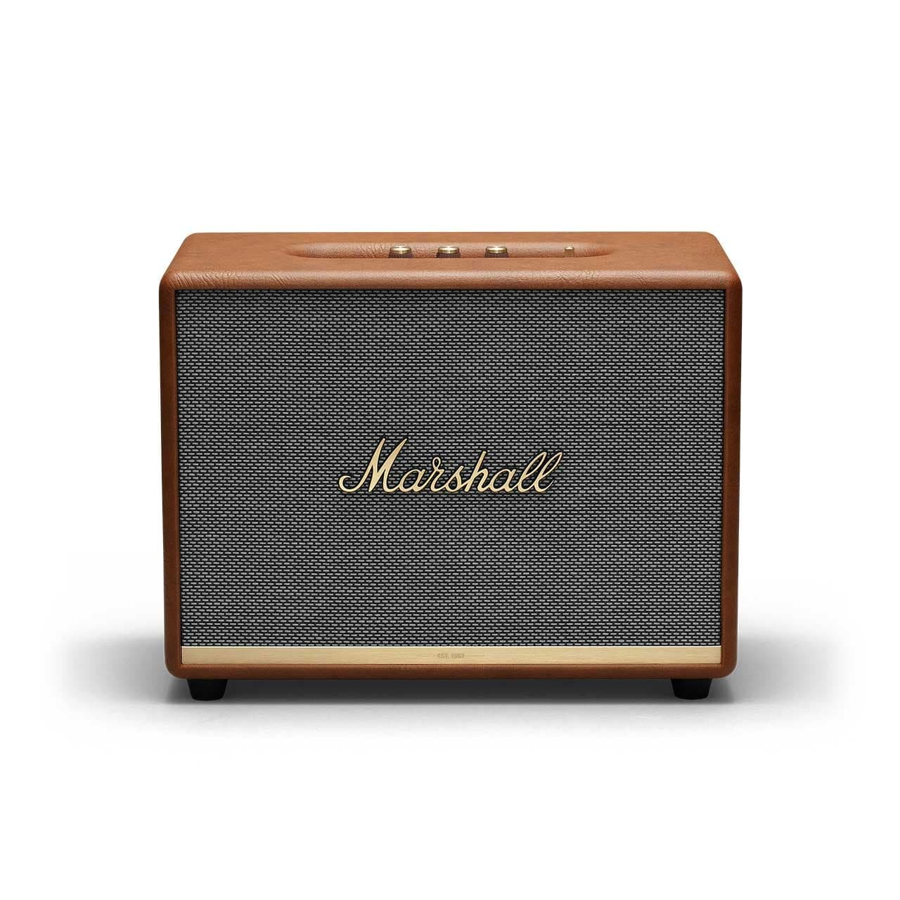 MARSHALL Hnědý reproduktor Woburn II Bluetooth Brown