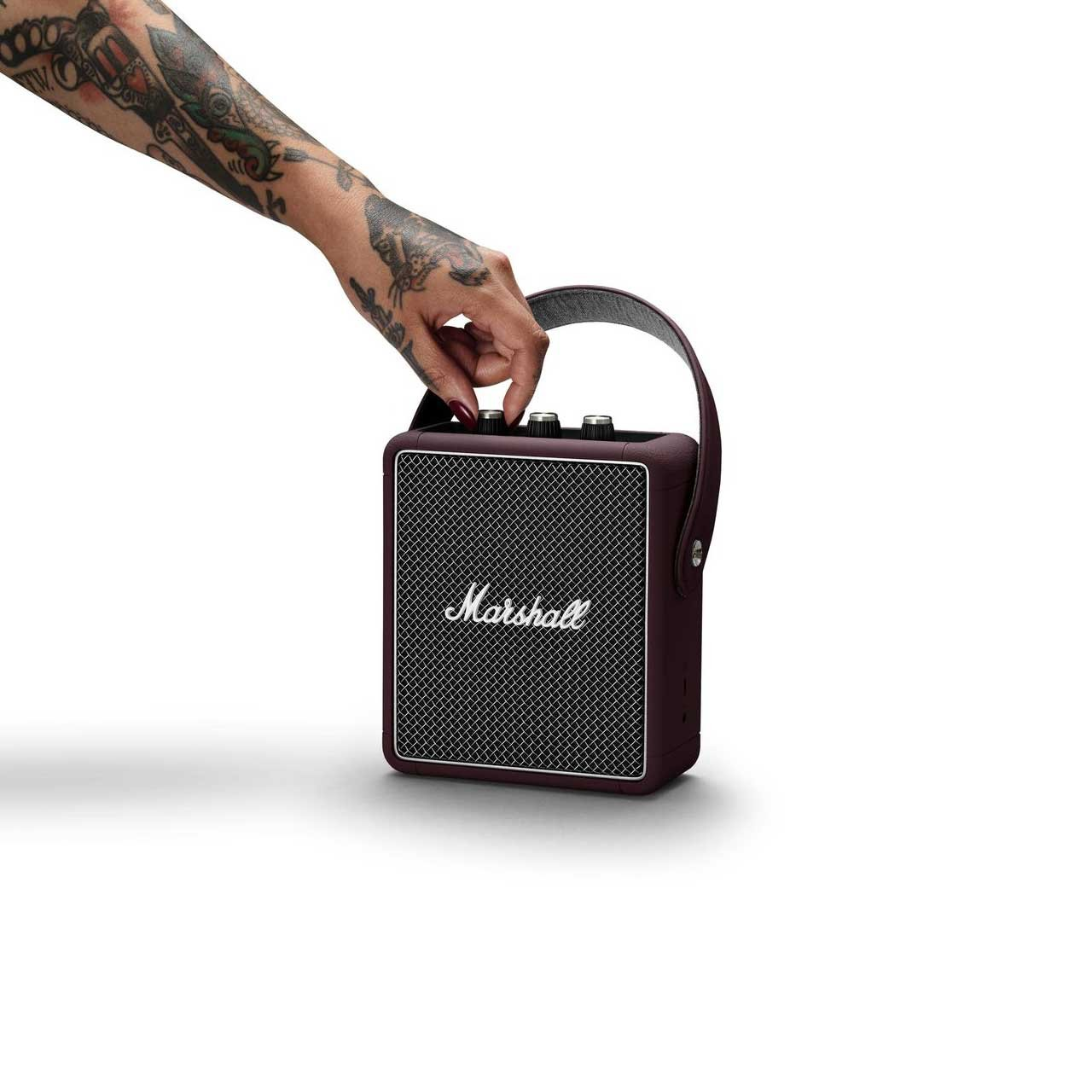 MARSHALL Bordó reproduktor Stockwell II Burgundy