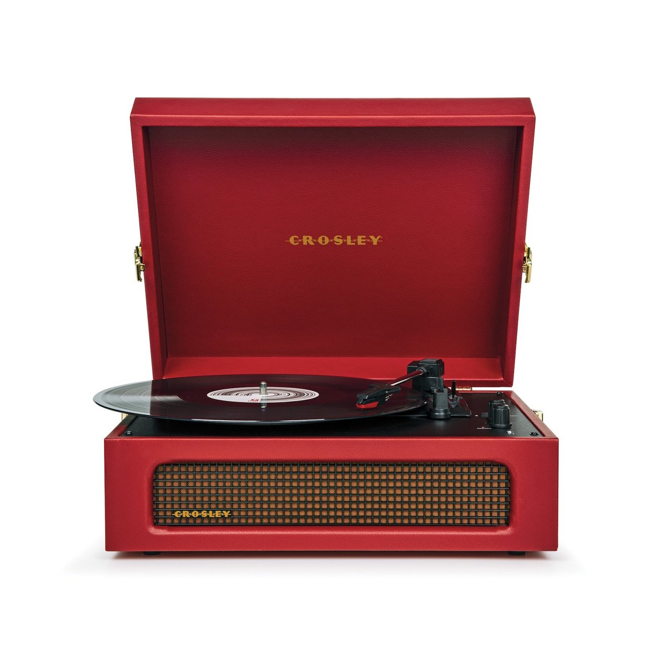 CROSLEY Gramofón Crosley Voyager Burgundy Red