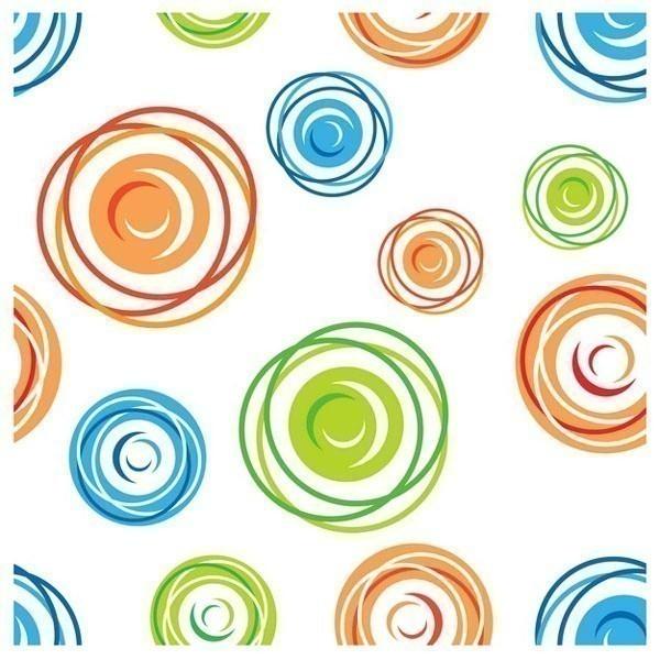 Obraz na plátně - circles