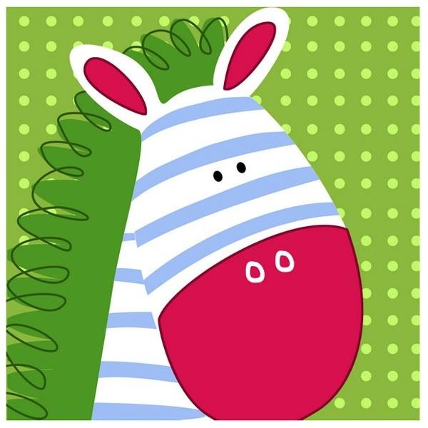 Dětský obraz - zebra
