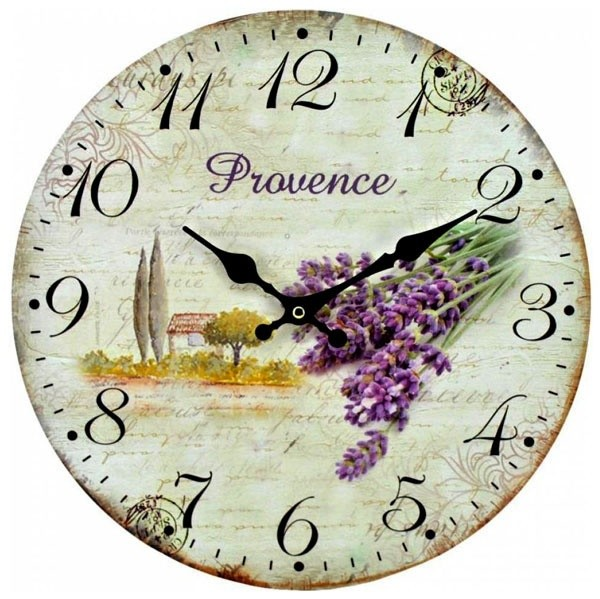 Nástěnné hodiny Provance