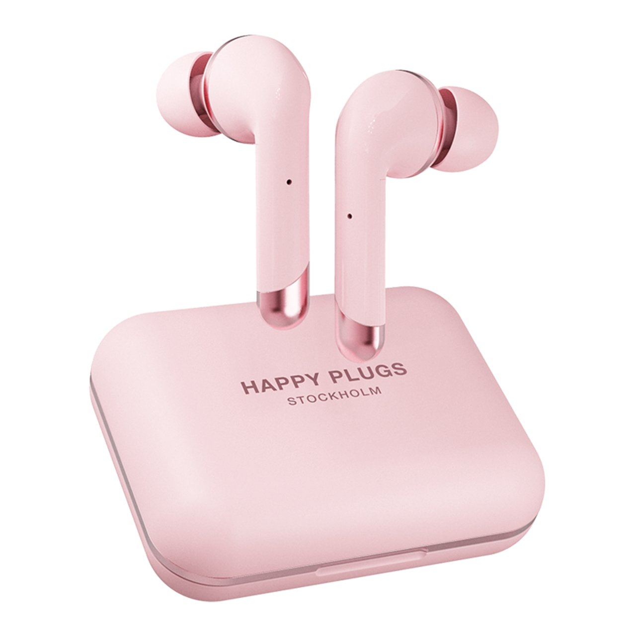 HAPPY PLUGS Bezdrátová sluchátka Air 1 Plus In-Ear – rosegold