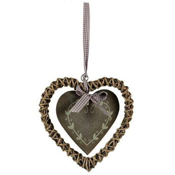 Srdce Amelie - šedé