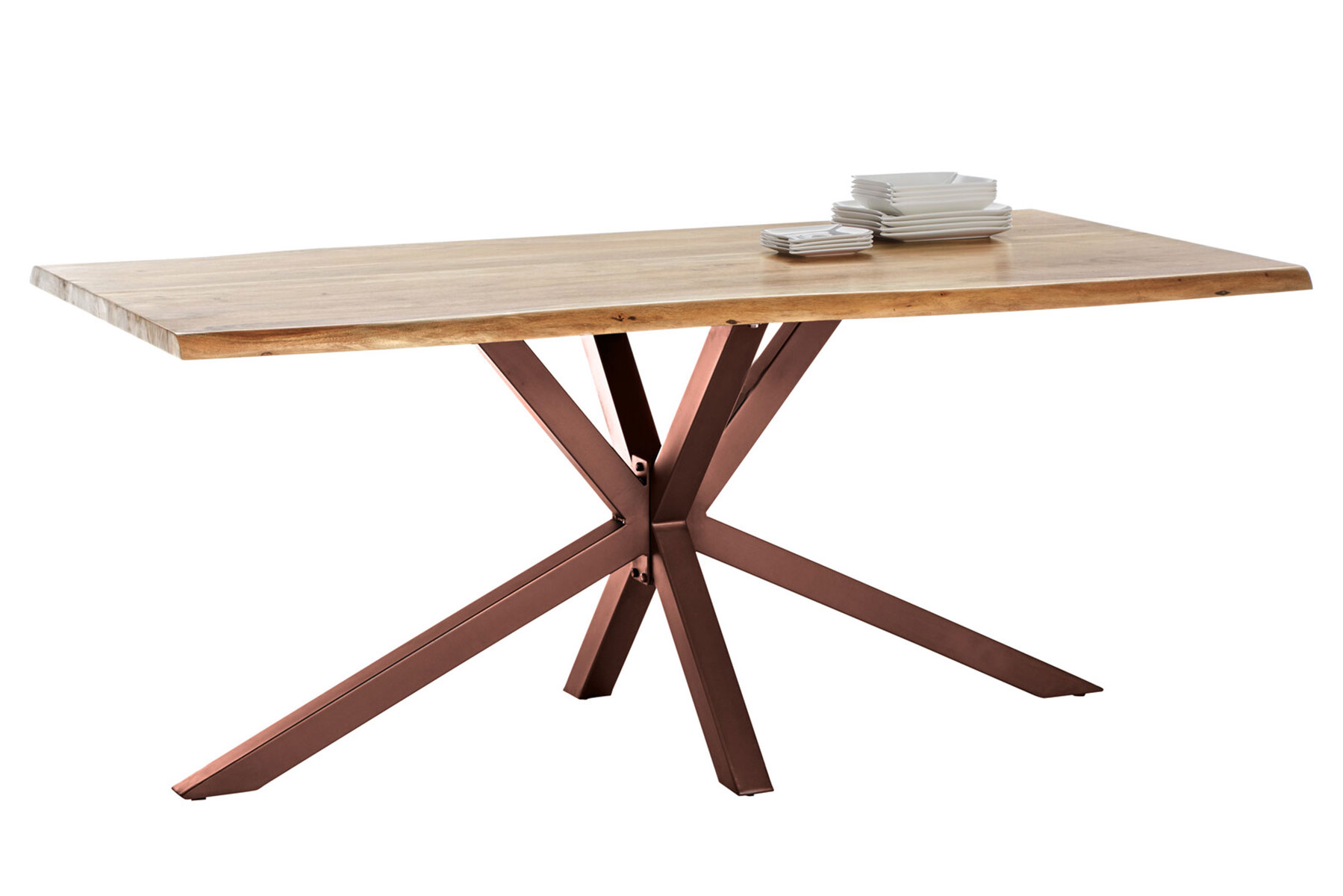 SIT MÖBEL Stůl TABLES  BENCHES – 180 × 100 × 80 cm