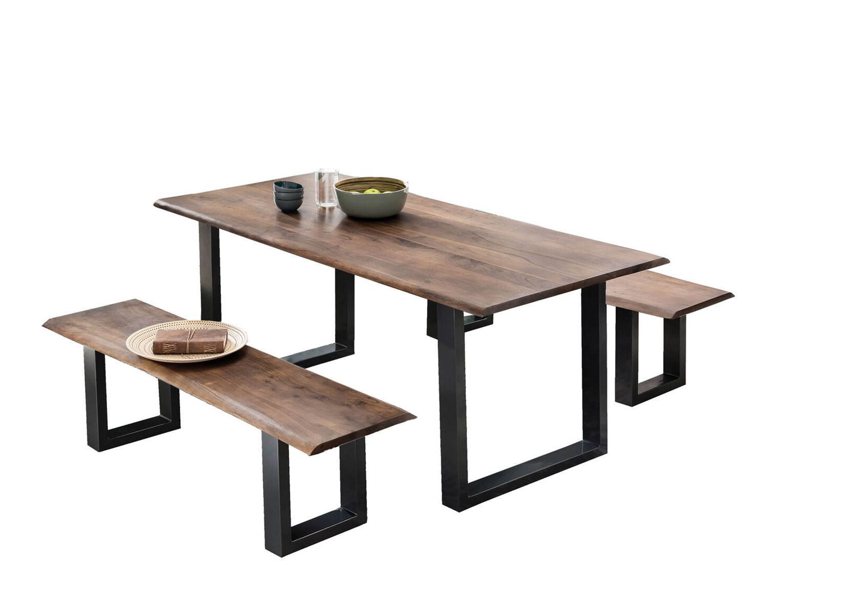 SIT MÖBEL Stůl TABLES  BENCHES 200 × 100 × 77 cm