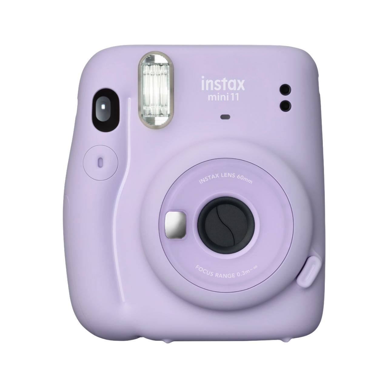 Levně INSTAX - FUJIFILM Instantní fialový fotoaparát Mini 11