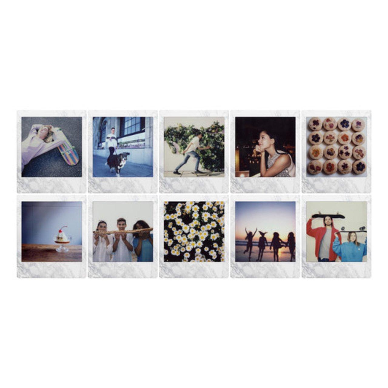 Instax Film Square Whitemarble – 10 snímků