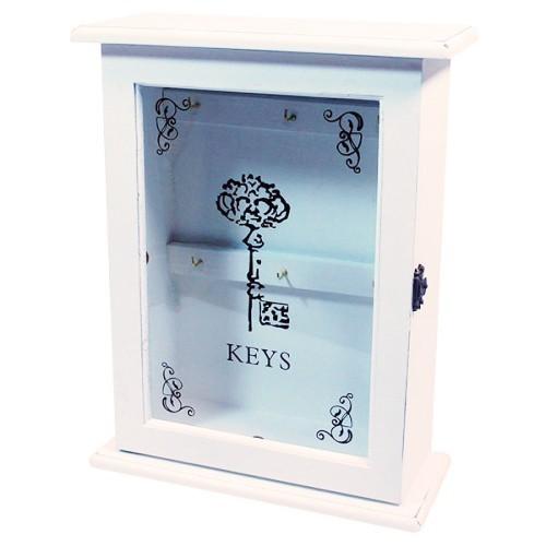 Dřevěná skříňka na klíče Céline