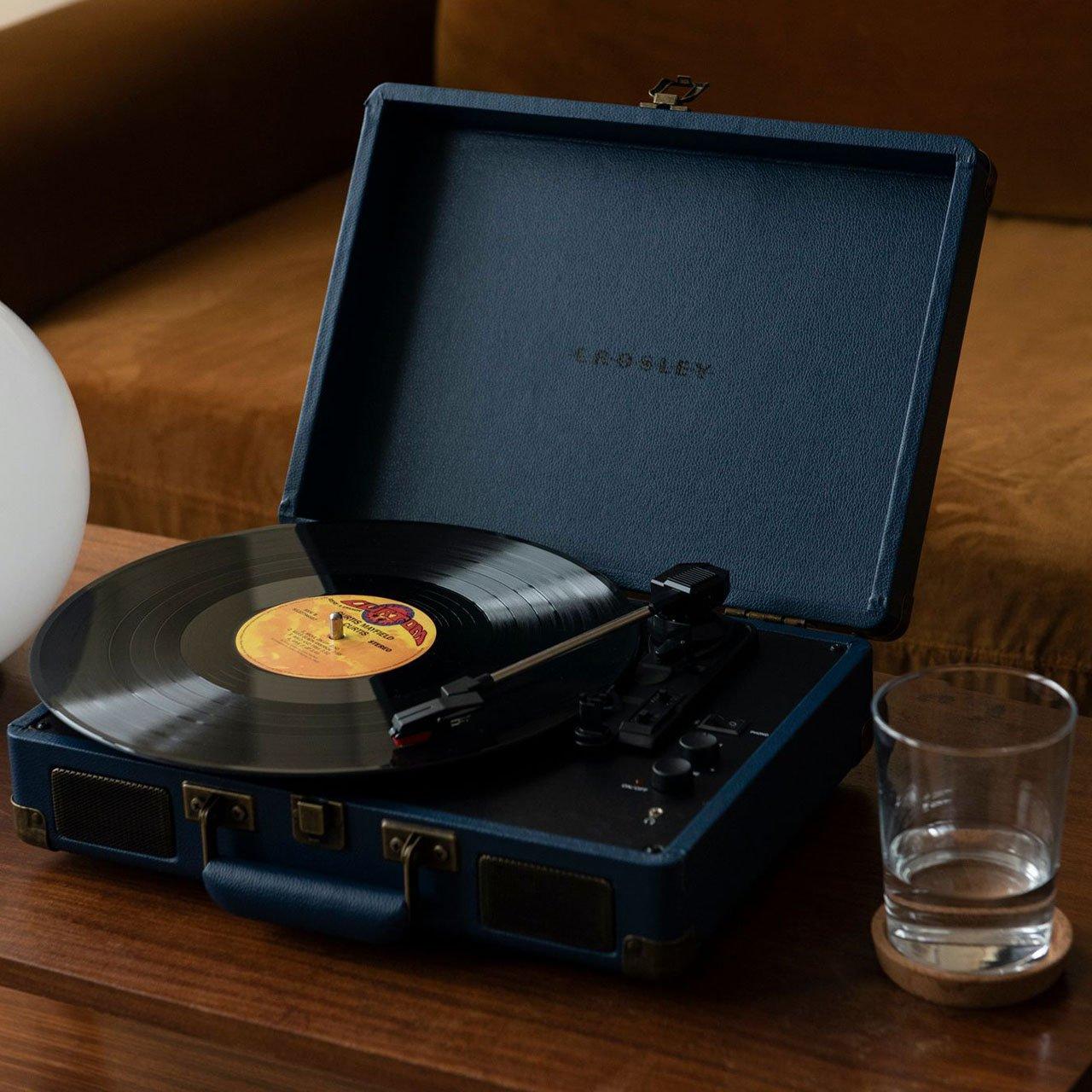 Gramofon Crosley Cruiser Deluxe – Navy