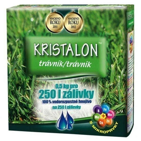 Hnojivo KRISTALON na trávník