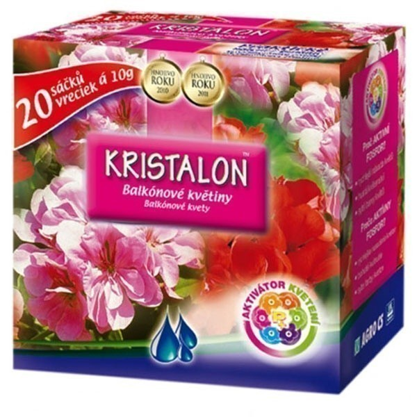 Hnojivo KRISTALON na balkónové květiny