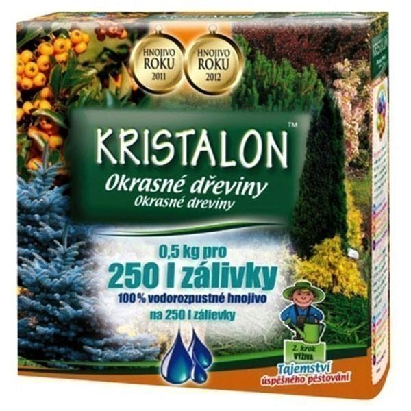 Hnojivo KRISTALON na dřeviny