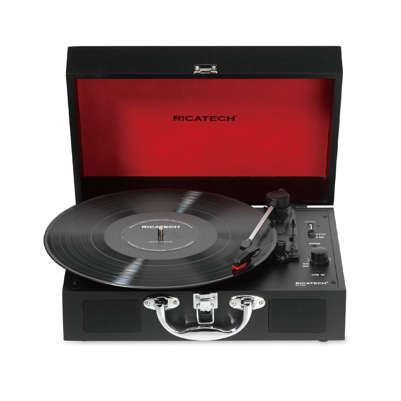 Gramofon RTT25 Executive Black