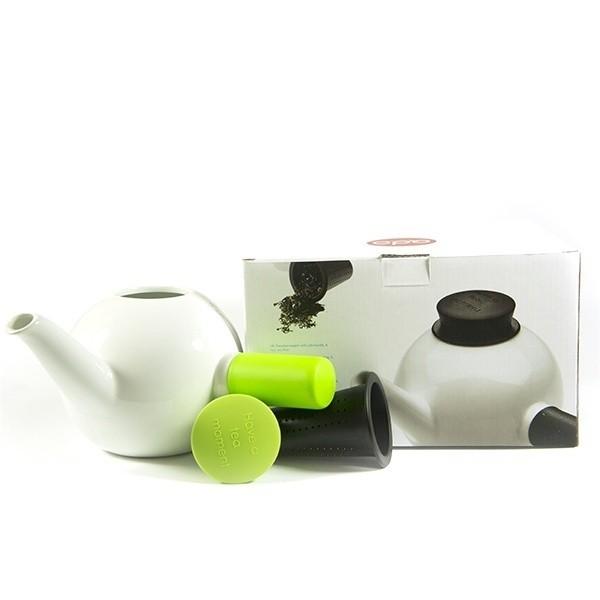 Porcelánová čajová konvice Teakyo - zelená