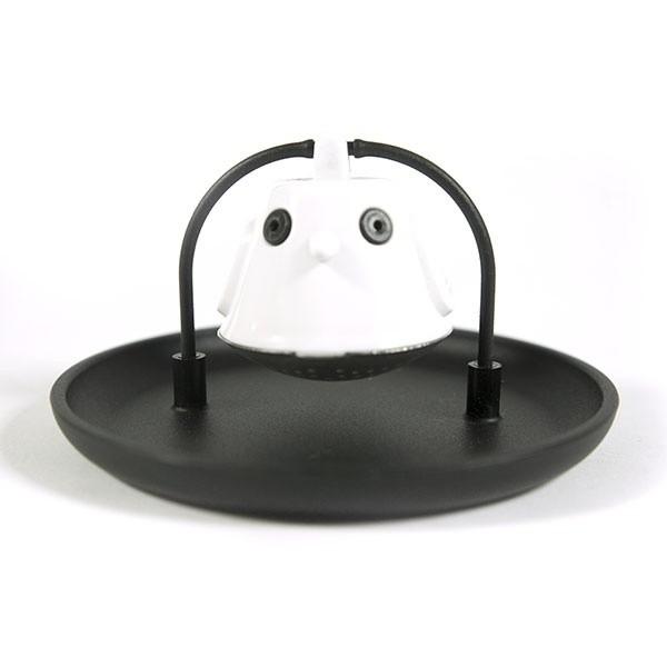 Čajové sítko Birdie Swing - černé