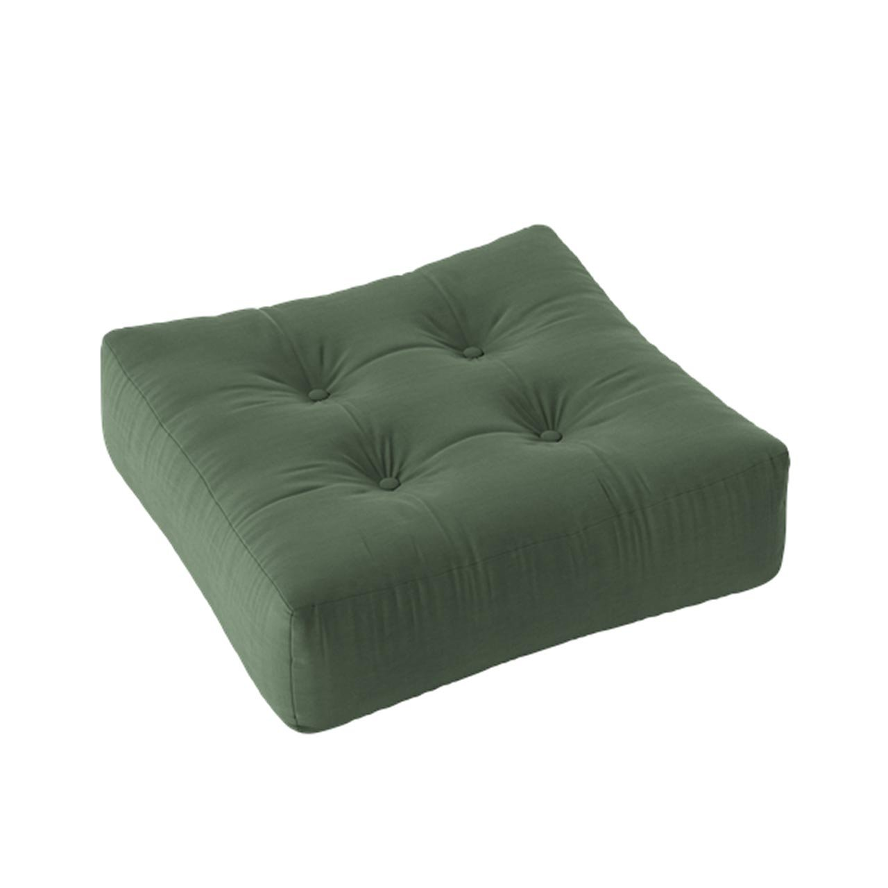 KARUP DESIGN Taburet More Pouf – Olive Green