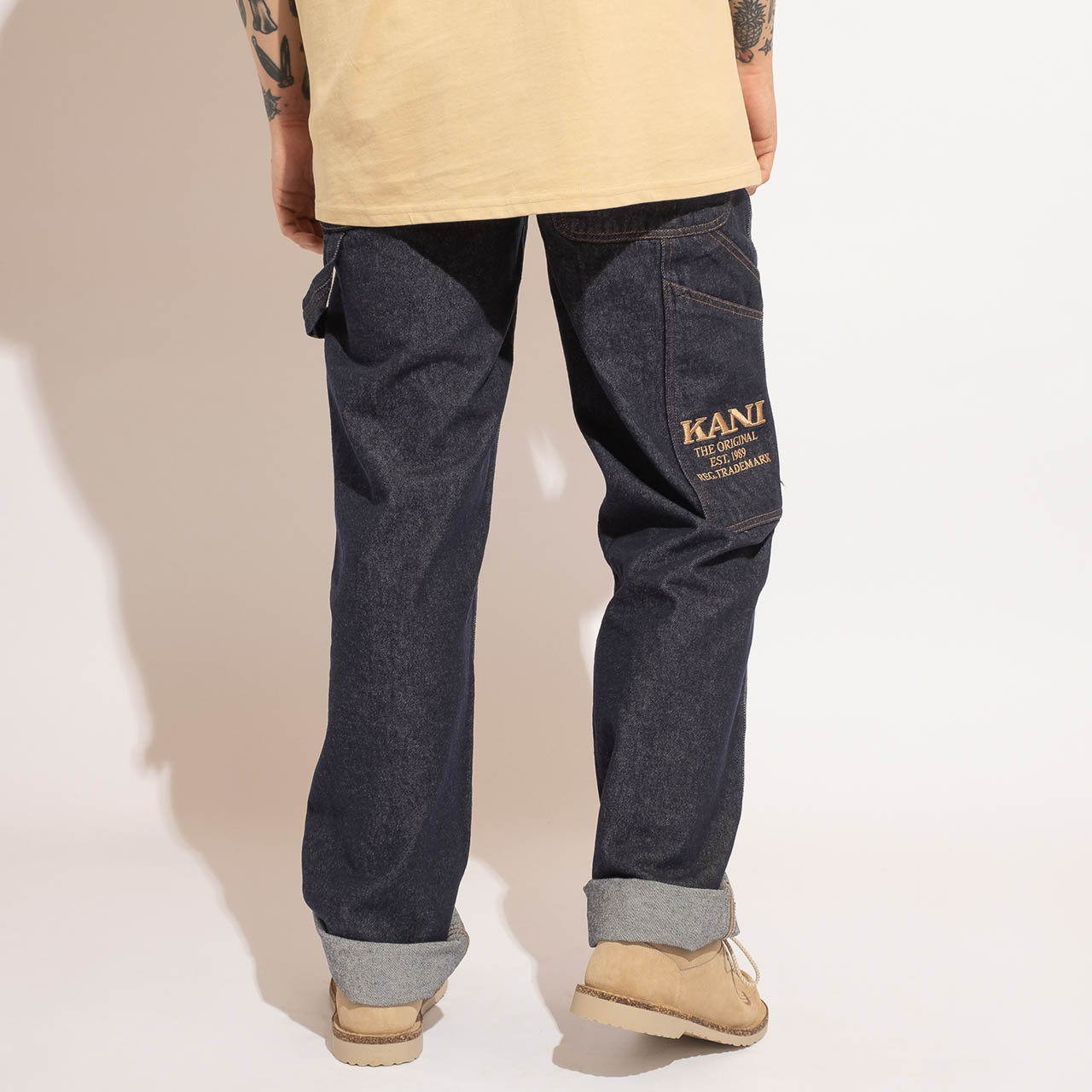 KARL KANI KK OG Rinse Denim Pants – S