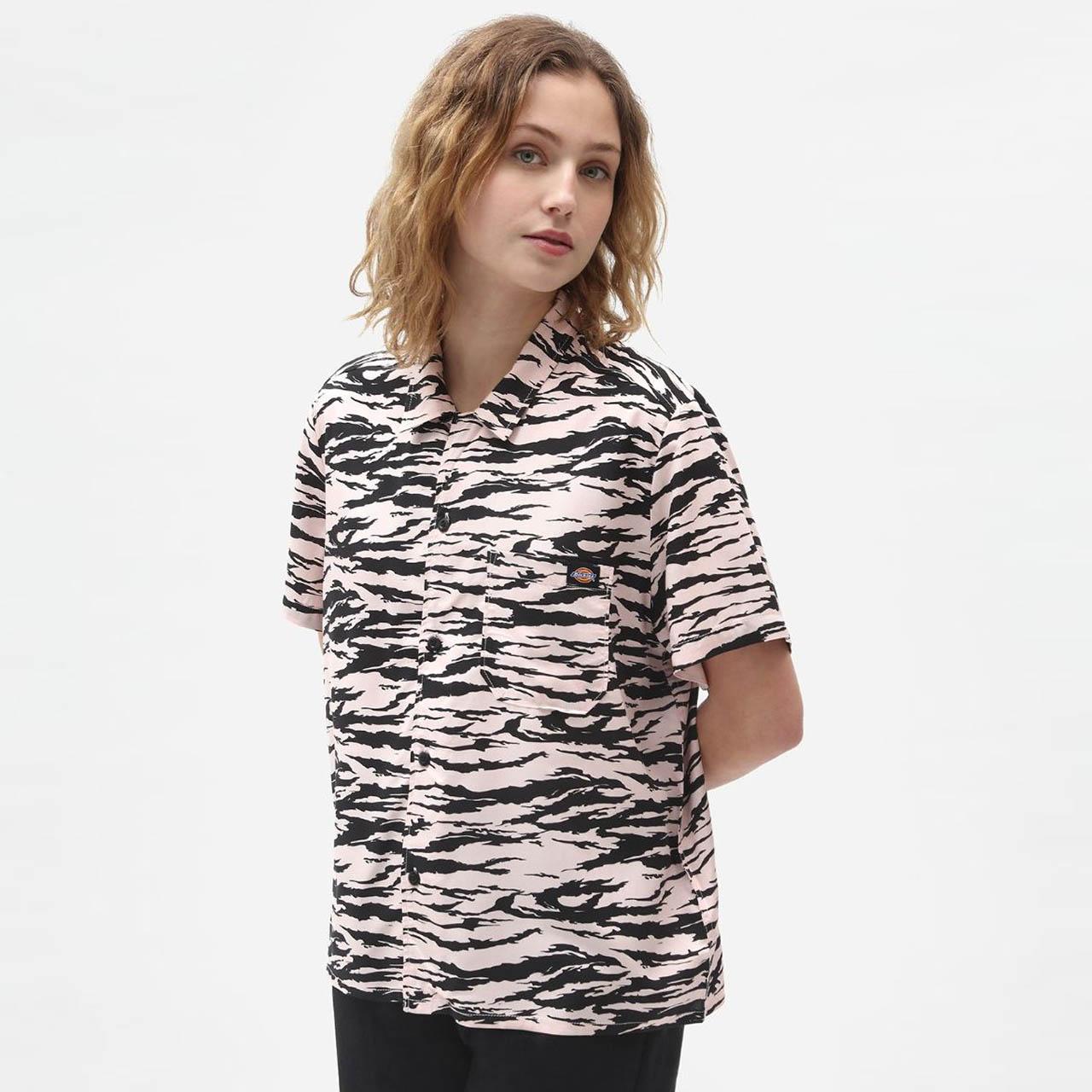 Růžová košile Quamba – M