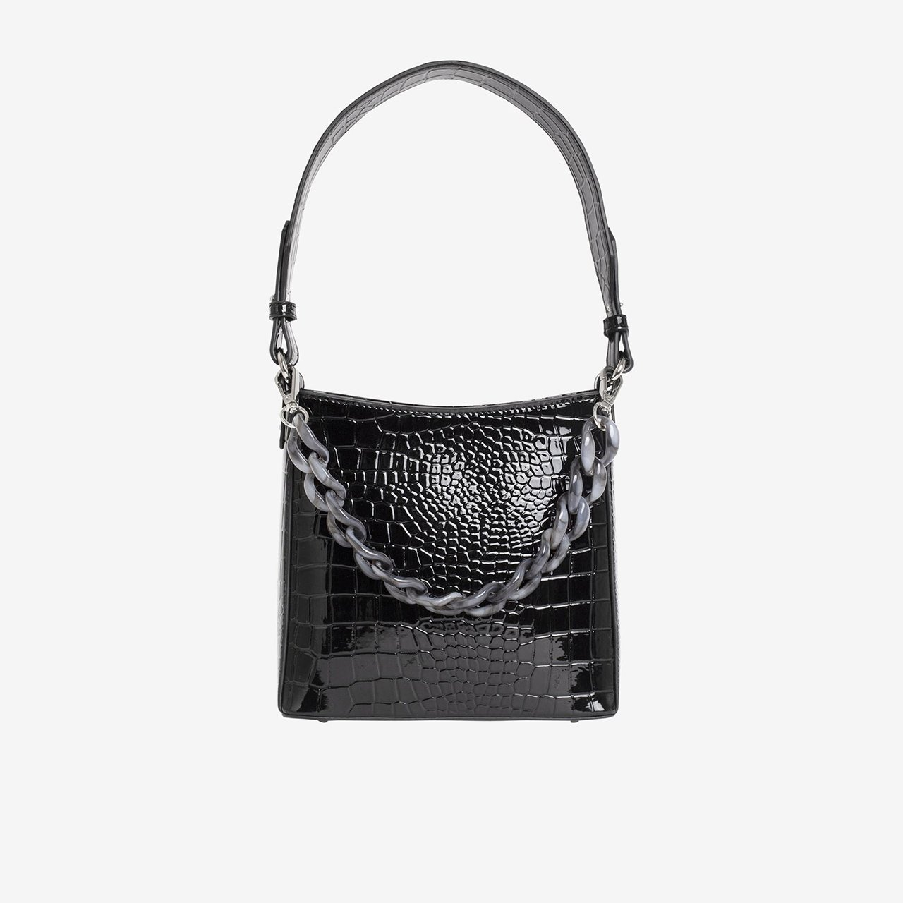 HVISK Kabelka Amble Croco Small