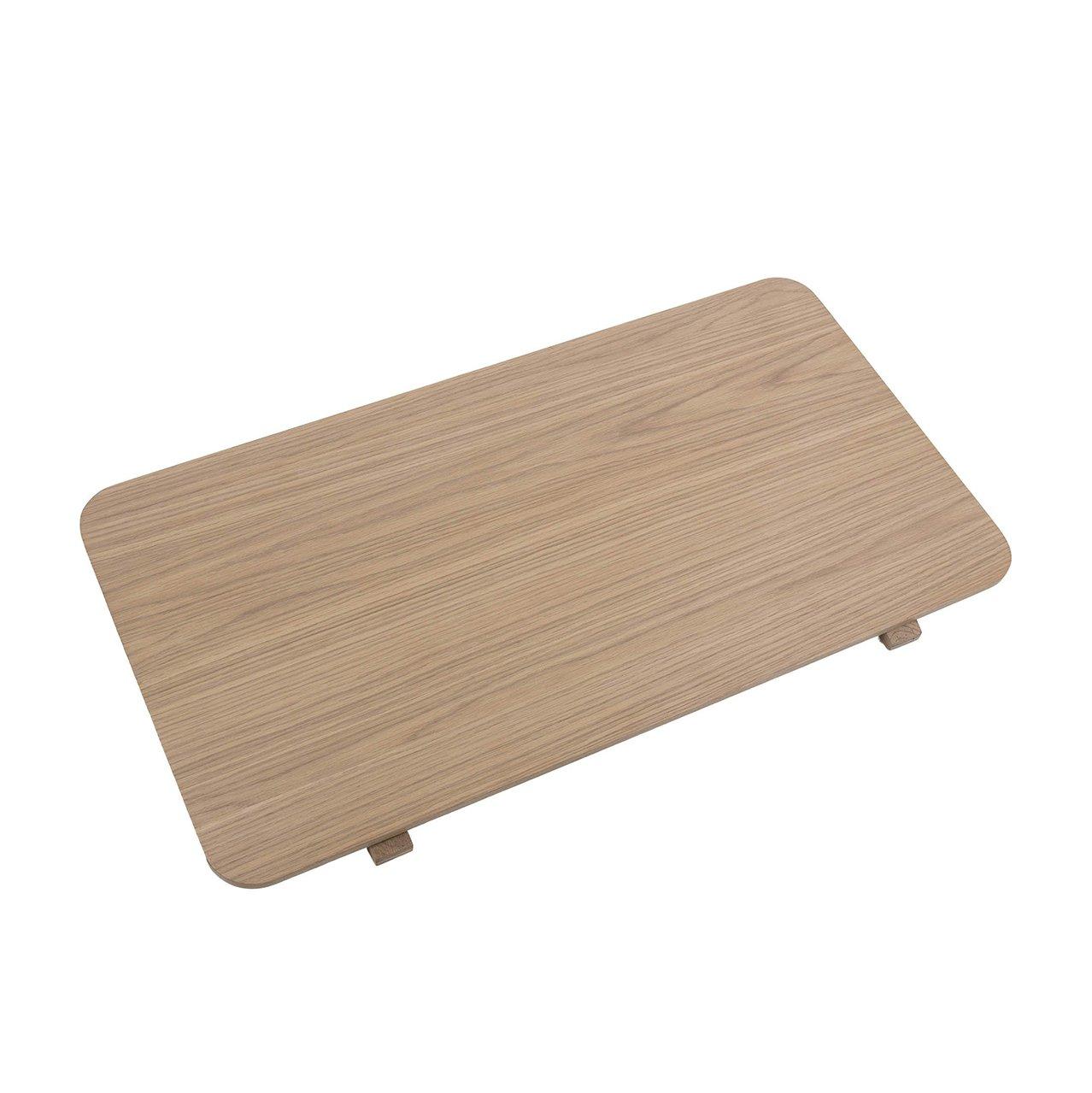 Deska stolu Asbaek − bílá