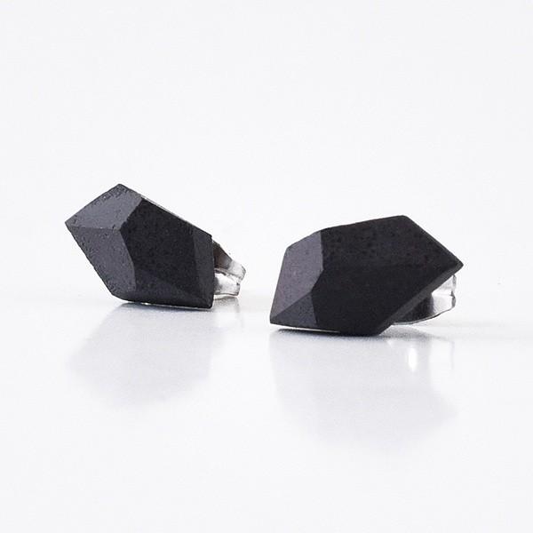 Naušnice Gravelli Rock - antracit