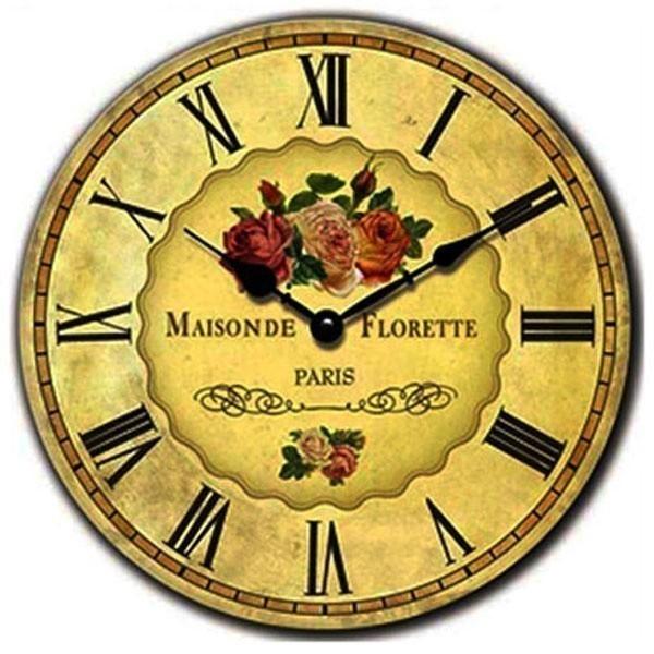 Nástěnné hodiny Maisonde Florette