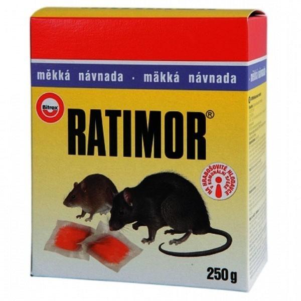 Rodenticid RATIMOR měkká návnada