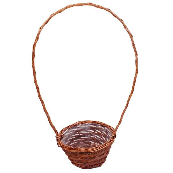 Vrbový košík Amelie S – hnědý
