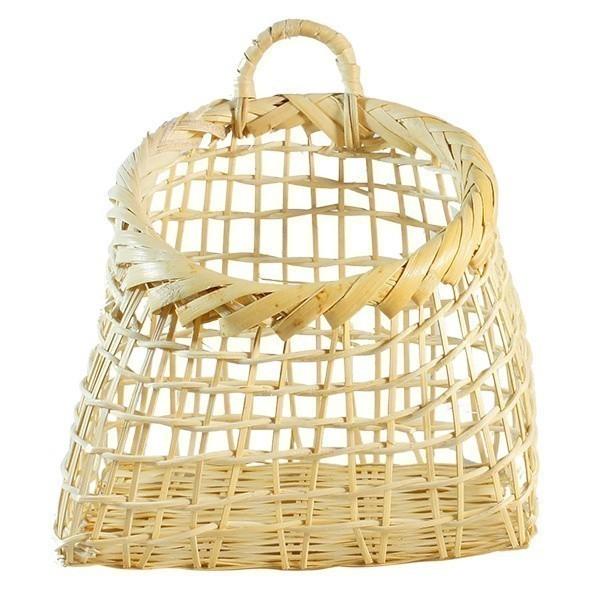 Bambusový košíček Ria M - přírodní