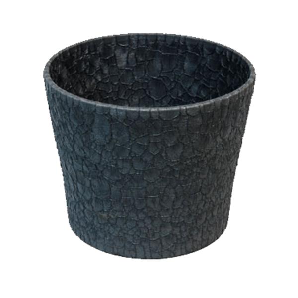 Květináč Twister S – šedý
